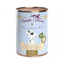 Terra Canis Welpen 400g Dose Rind