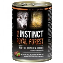 PURE INSTINCT Royal Forest Dose mit Hirsch