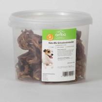arriba Natur Mix Schweineohrstreifen 500g Eimer Hundesnack