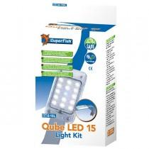 SuperFish Qube LED 15 Beleuchtung