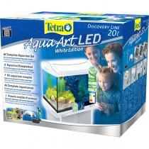 Tetra AquaArt Aquarium-Komplett-Set LED 20 L Shrimps weiß (244863)