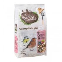 LandPartie Wildvogelfutter 800g Wildvogelmix Plus mit Nüssen, Früchten und Beeren