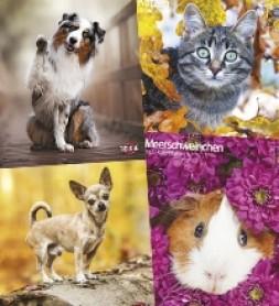 TRIXIE Tierkalender 2022 Hund, Katze und Kleintiere