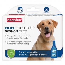 beaphar DuoProtect Spot-On 3x4,5ml (13577) - Parasitenabwehr für Hunde
