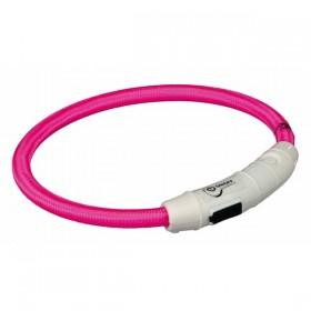 TRIXIE USB Flash Leuchtring pink
