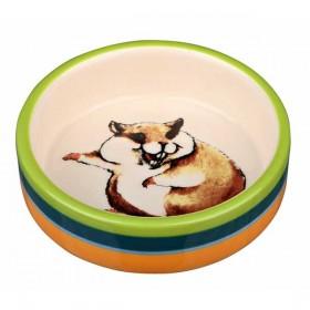 TRIXIE Napf Keramik 80 ml/ø 8 cm Hamster (60801)