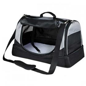 TRIXIE Tasche Holly schwarz/grau 30×30×50 cm bis 15 kg (28940)