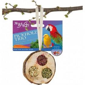 JR Farm Birds Pickholz Trio 70g (13365)