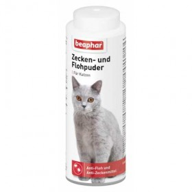 beaphar Zecken und Flohpuder Katze 100g (13641)
