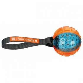 TRIXIE Push to Mute Ball ø 7cm/22cm, TPR