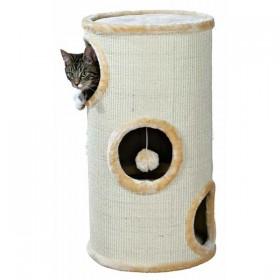 TRIXIE Cat Tower Samuel 70cm/ø 36cm natur/beige (4330)