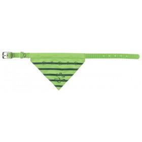 TRIXIE Halsband mit Tuch apfelgrün