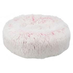 TRIXIE Bett Harvey ø 50cm weiß/pink (37317)