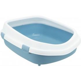 TRIXIE Katzentoilette Primo XXL blau/weiß (40175)
