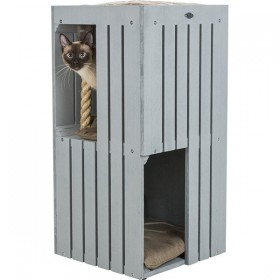 TRIXIE BE NORDIC Cat Tower Juna grau/sand 77cm (44741)