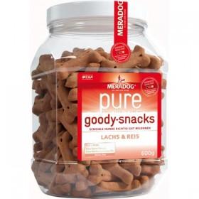 MERADOG pure Goody-Snacks Lachs&Reis 600g