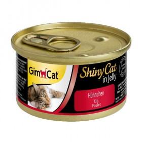 GimCat ShinyCat in Jelly Hühnchen 70g