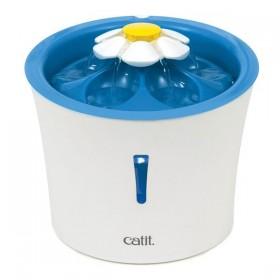 Catit Blumentrinkbrunnen 3 Liter blau mit LED (43747W)