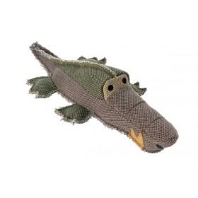 HUNTER Hundespielzeug Canvas Crocodile 32cm grau (60845)