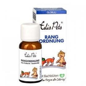 Edis Pets Rangordnung Bio Bachblüten 20g Globuli für Hunde (1011241)