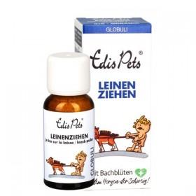 Edis Pets Leinenziehen Bio Bachblüten 20g Globuli für Hunde (1011239)