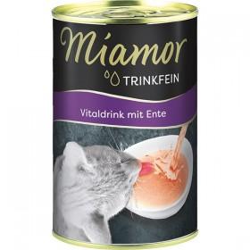 Miamor Trinkfein Vitaldrink für Katzen 135ml mit Ente (74363)
