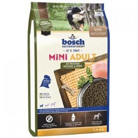 bosch Mini Adult 3kg mit Geflügel und Hirse (01310)