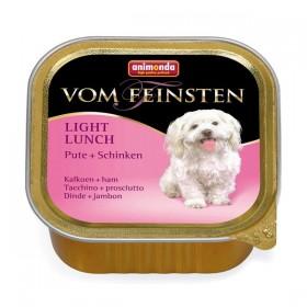 animonda Vom Feinsten Light Lunch 150g Schale - Pute+Schinken