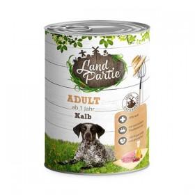 LandPartie Hund Adult Kalb Dose