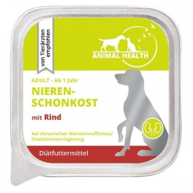 Animal Health Hund Adult  Nierenschonkost 150g mit Rind