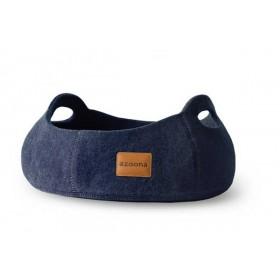azoona Bett Cuco 43x43x19cm jeansblau (712043)