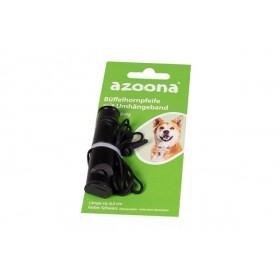 azoona Büffelhornpfeife mit Umhängeband doppeltönig 6,5cm (713007)