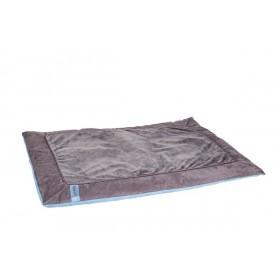 azoona Hundedecke Balu 100x70x2cm grau/blau (712420)