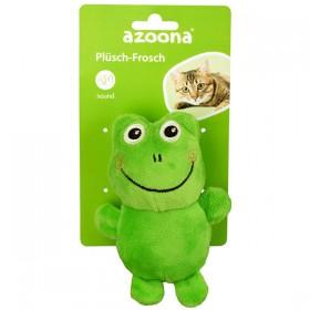 azoona Katzenspielzeug Frosch 14cm (712612)