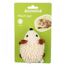azoona Katzenspielzeug Plüsch-Igel 9 cm (712523