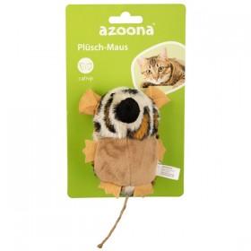 azoona Katzenspielzeug Maus Plüsch 10cm (712512)