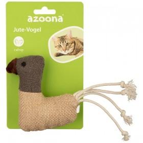 azoona Katzenspielzeug Jute Vogel 18cm (712512)