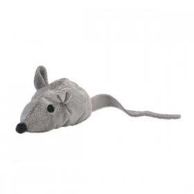 Aumüller Katzenspielzeug Baldi-Maus grau (M520)