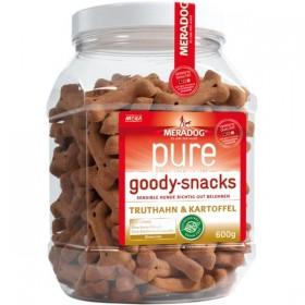 MERADOG pure Goody-Snacks Truthahn&Kartoffel 600g