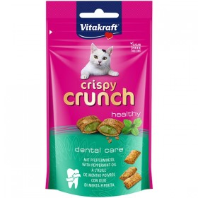 Vitakraft Cat Crispy Crunch Dental mit Pfefferminzöl 60g (28813)