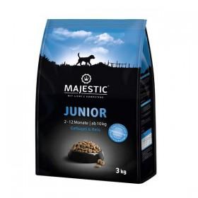 MAJESTIC Junior Geflügel&Reis 3kg Trockenfutter (610831)