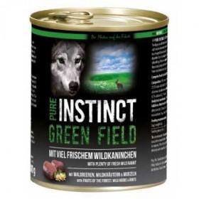 PURE INSTINCT Green Field Dose mit Wildkaninchen