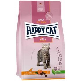 HAPPY CAT Junior Land-Ente 300g Katzenfutter (70543)