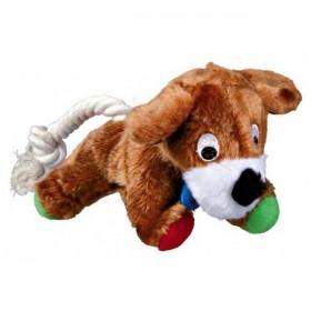 TRIXIE Hund Plüsch mit Tau 17cm