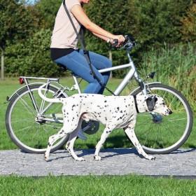 TRIXIE Fahrrad- und Joggingleine schwarz
