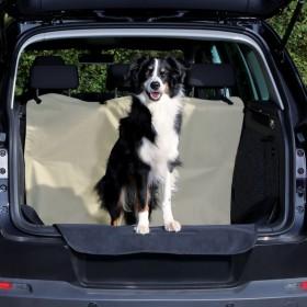 TRIXIE Kofferraum Schondecke beige/schwarz 1,80x1,30m