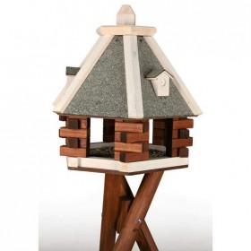TRIXIE natura Futterhaus mit Ständer ø 55cm (5578)