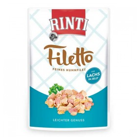 RINTI Filetto 100g Pouch Huhnfilet mit Lachs Jelly