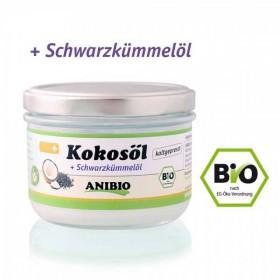 ANIBIO Kokosöl + Schwarzkümmelöl 200ml Hund (77307)
