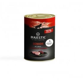 MAJESTIC Katze 400g Dose Senior Multifleisch-Cocktail (611375)